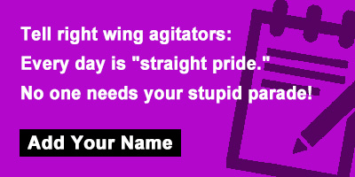 Tell right wing agitators: Every day is