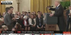 Acosta news conference