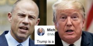 Avenatti and Trump
