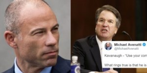 Avenatti and Kavanaugh