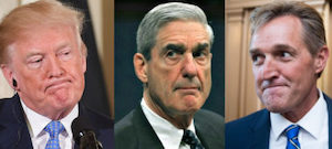 Trump, Mueller and Flake