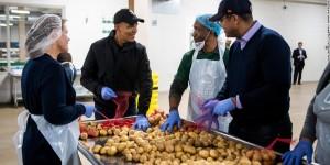 Obama foodbank