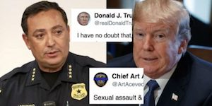 Houston Police Chief and Trump