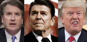 Kavanaugh, Reagan and Trump