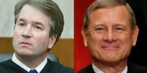 Kavanaugh and Roberts