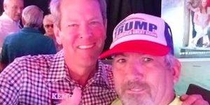 Kemp and supremacist