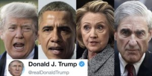 Trump, Clinton, Mueller and Obama