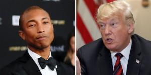 Pharrell and Trump