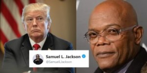 Trump and Sam Jackson