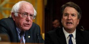 Sanders and Kavanaugh