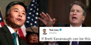 Ted Lieu and Kavanaugh