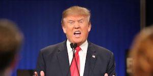 Trump angry