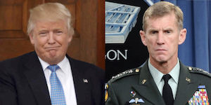 Trump and General