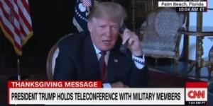 Trump Thanksgiving phone call