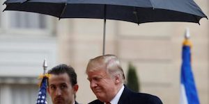 Trump umbrella