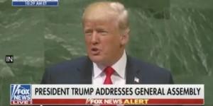 Trump UN Meeting