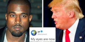 Ye and Trump